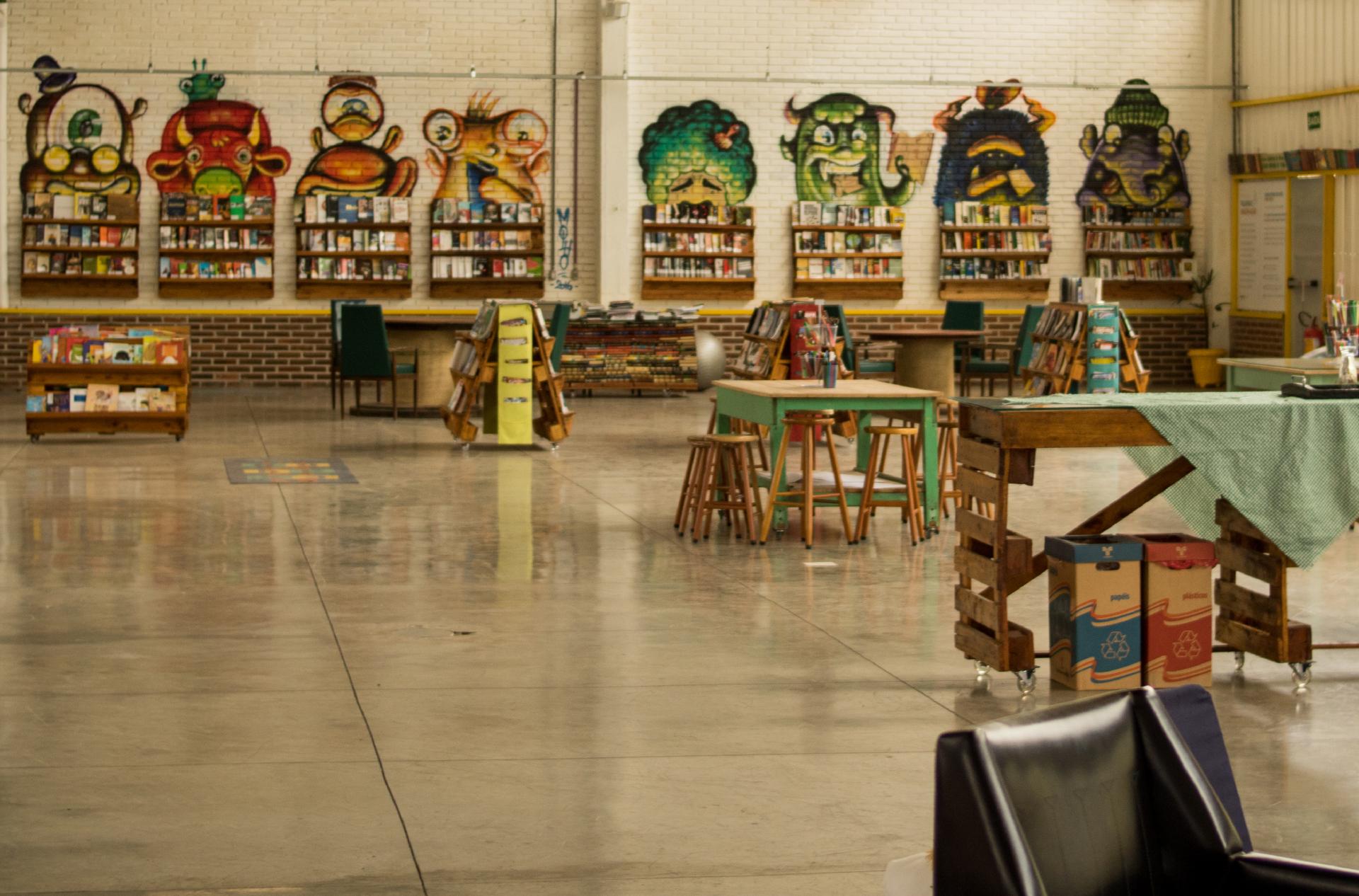 Laboratório de Inovação Social é composto por espaços de aprendizagem e criação